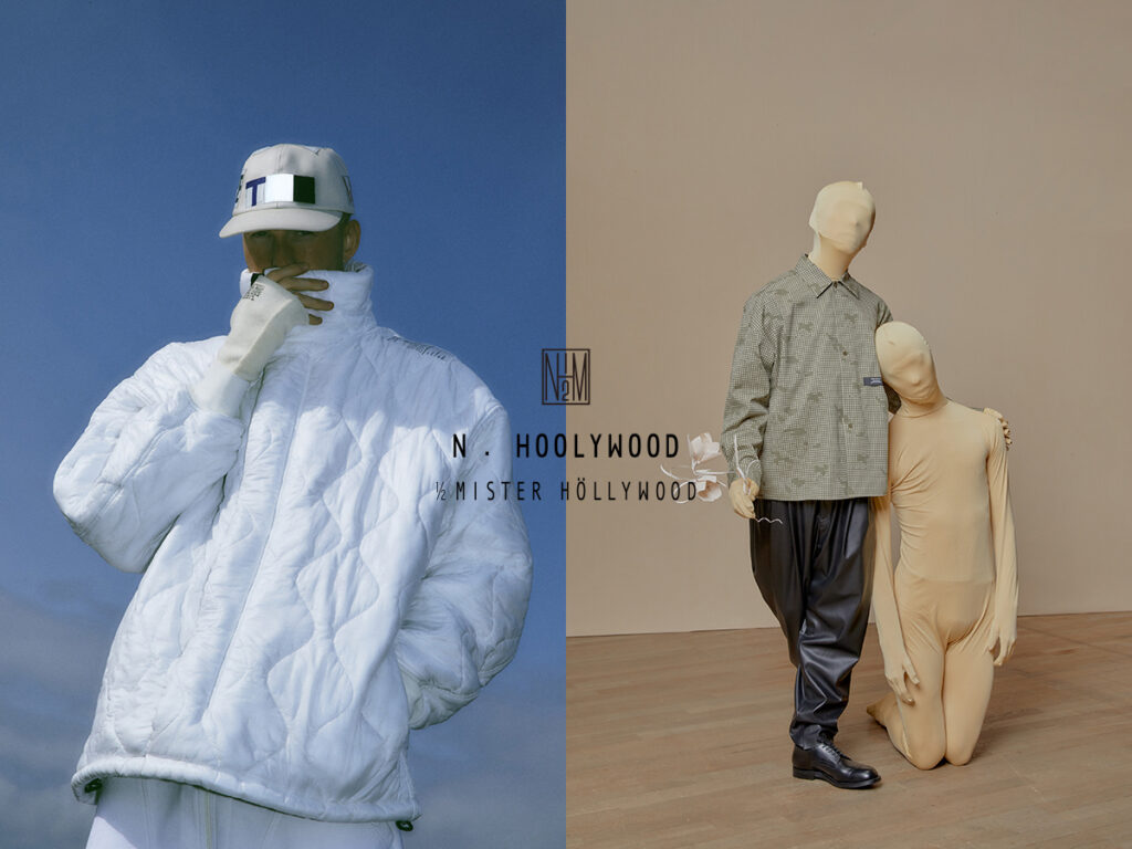 N.HOOLYWOOD 21AW COLLECTION LOOK