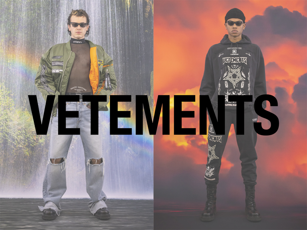 VETEMENTS 21AW COLLECTION LOOK