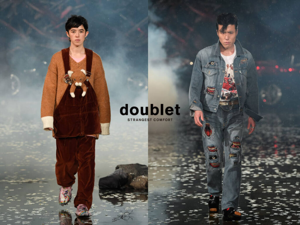 doublet 21AW COLLECTION LOOK