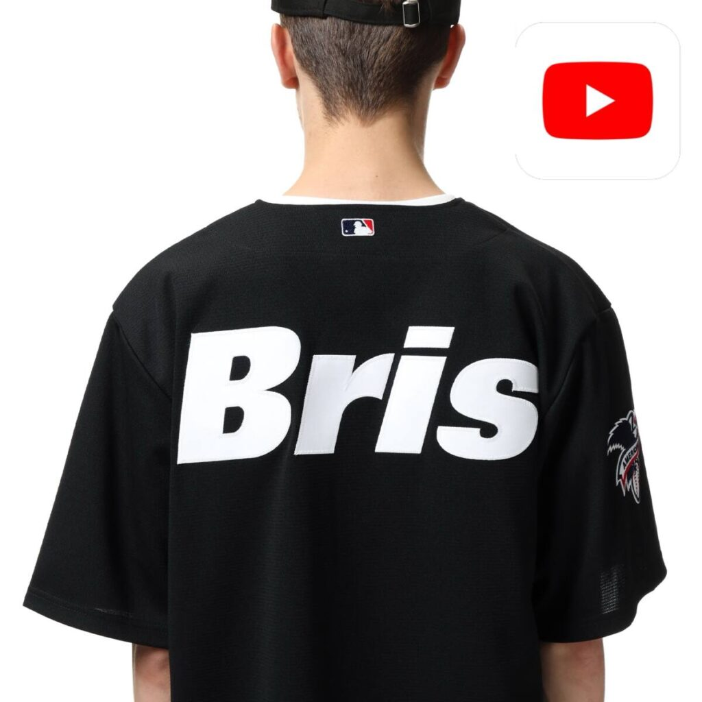 【YouTube】F.C.Real Bristol 2021 – 22 A/W COLLECTION 商品の一部を紹介!!