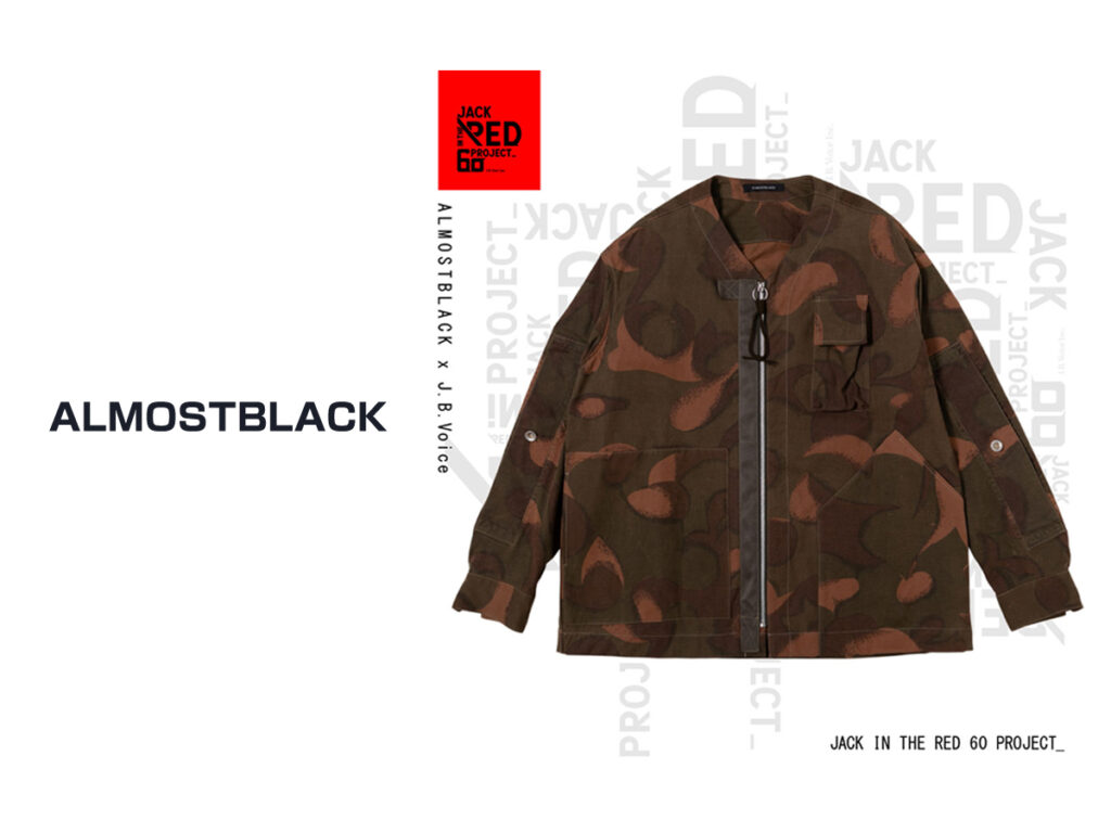 JACK IN THE RED—60 PROJECT—  ALMOSTBLACK ×  J.B.Voice