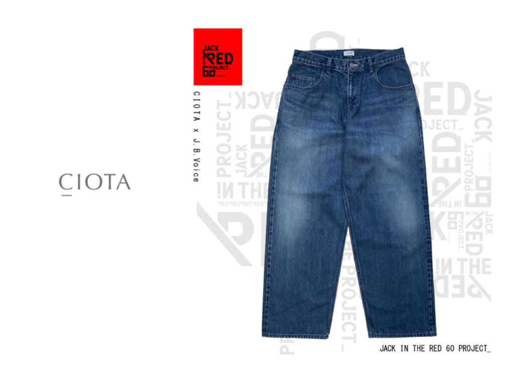 JACK IN THE RED—60 PROJECT— CIOTA × J.B.Voice