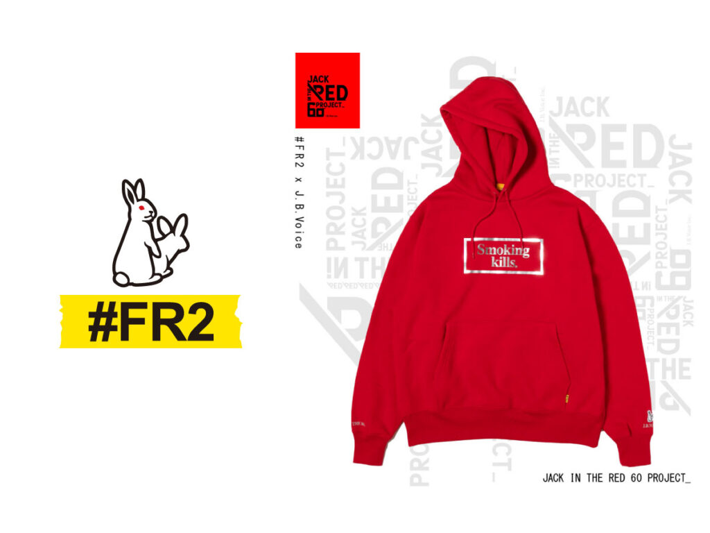 JACK IN THE RED—60 PROJECT— #FR2 × J.B. Voice