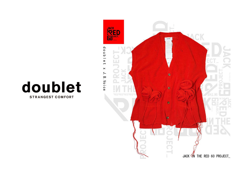 JACK IN THE RED —60 PROJECT— doublet×J.B.Voice