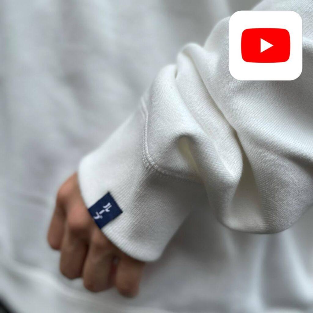 【YouTube】体型の違うスタッフが着る LOOPWHEELER for Graphpaper